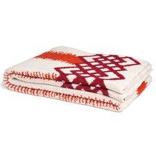 Feathered Stripe Throw Blanket