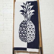 Split Pineapple Throw Blanket