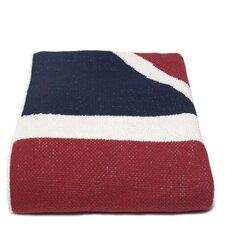 Union Jack Flag Cotton Throw