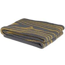 Eco Woodgrain Cotton Throw Blanket