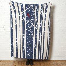 Eco Birch Throw Blanket