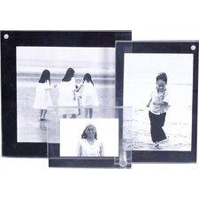 3 Piece 3D Picture Frame Set