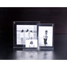 3 Piece 3D Picture Frame Set
