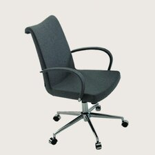 Tulip Leather Office Chair