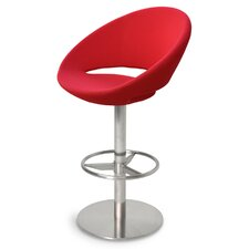 "Crescent Swivel 29"" Bar Stool"