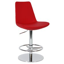 Eiffel Adjustable Height Swivel Bar Stool