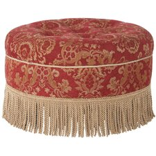 Yolanda Decorative Round Ottoman