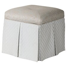 Stacy Square Storage Vanity Stool