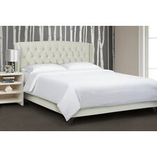 Cole Wingback Bed