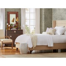 Elle Queen Upholstered Panel Headboard
