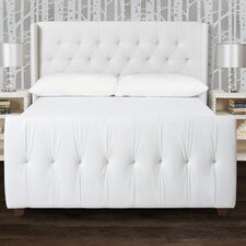 David Upholstered Panel Bed