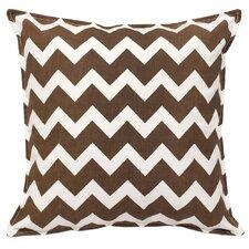 Chevron Cotton Canvas Throw Pillow