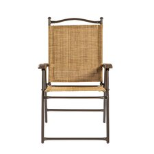 Sling Back Outdoor Chair (Set of 2)