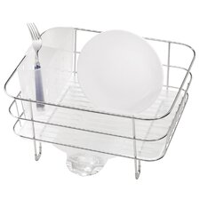 2 Piece Long Compact Dish Rack