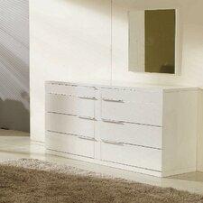 Modrest Aron 6 Drawer Dresser