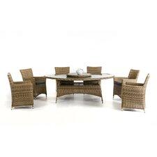 Renava Galveston 7 Piece Dining Set with Cushions