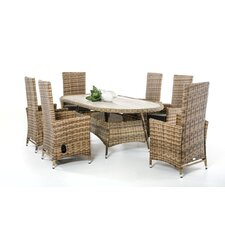 Renava Parrot 7 Piece Dining Set with Cushions