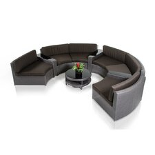 Renava Shore 8 Piece Deep Seating Group with Cushions