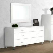 Modrest Bravo 6 Drawer Dresser