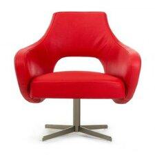 Divani Casa Geranium Modern Lounge Chair