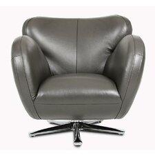 Divani Casa Covina Modern Swivel Lounge Chair