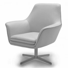 Divani Casa Poli Modern Swivel Lounge Chair