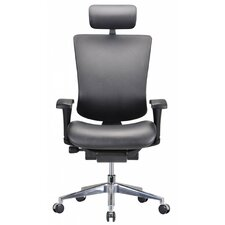 Modrest Watson High-Back Leather Executive Chair