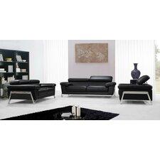 Divani Casa Encore 3 Piece Living Room Set