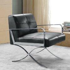 Divani Casa Delano Leather Slipper Chair