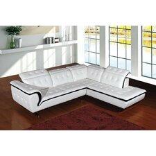 Divani Casa Leather Sectional