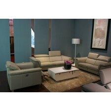 Divani Casa Leather Sofa Set