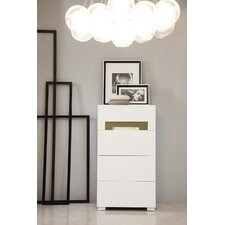 Modrest Ceres 4 Drawer Chest with Light