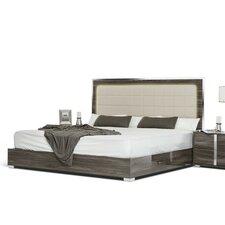 Modrest Upholstered Panel Bed