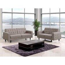 Divani Casa Modern 3 Piece Living Room Set