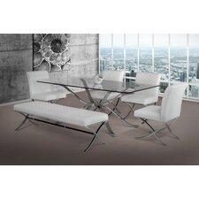 Modrest Adderley Modern Parsons Chair (Set of 2)