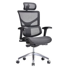 Modrest High-Back Mesh Conference Chair