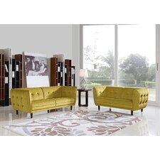 Divani Casa Avro Modern 3 Piece Living Room Set