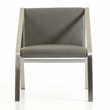 Wesley Modern Bonded Leather Armchair