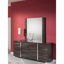 Modrest San Marino 6 Drawer Dresser with Mirror