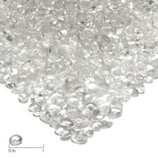 Ice Clear Fire Glass Filler