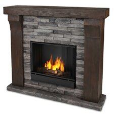 Avondale Cast Mantel Gel Fuel Fireplace