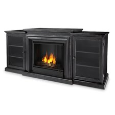 Frederick TV Stand with Gel Fuel Fireplace