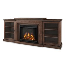 Frederick TV Stand with Electric Fireplace
