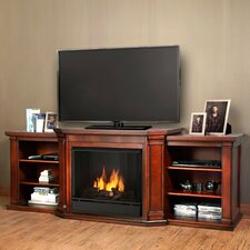 Valmont TV Stand with Gel Fuel Fireplace