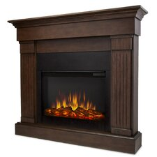 Slim Crawford Wall Mounted Electric Fireplace