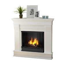 Chateau Corner Gel Fuel Fireplace