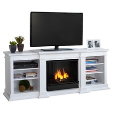 Fresno TV Stand with Gel Fuel Fireplace
