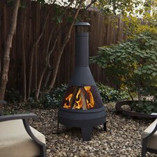 Steel Camber Chiminea