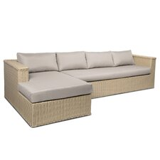 Mezzo 2 Piece Sectional Sofa Set with Cushions
