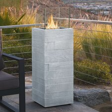 Board Form Propane Column Outdoor Fire Column